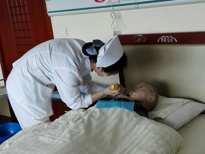 福山康复医院开展护士技能竞赛活动